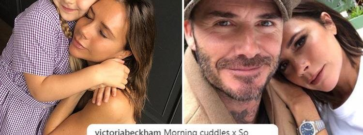 David and Victoria Beckham slam rumours the couple are to