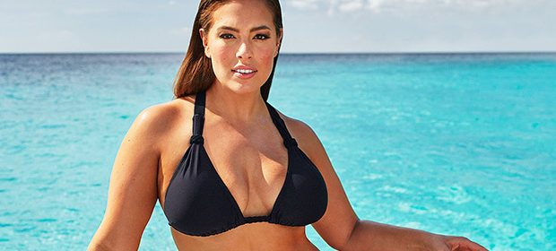 08012b05ba Ashley Graham took to her Instagram story on June 13 to show off her  incredible body while wearing a sexy black bathing suit during a beach hike  and we ...