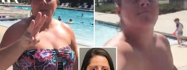 Swimming Pool Abuse : White woman 'racially abused and attacked black boy
