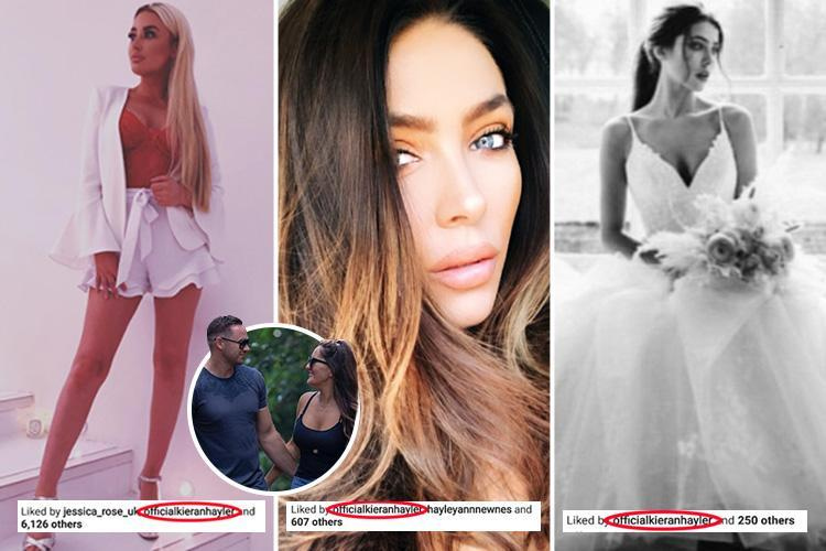 Kieran Hayler Caught Out Liking Sexy Pictures Of Olivia Attwood And Jamie O Hara S Fiancee Despite Being Loved Up With New Girlfriend Michelle Penticost Hot Lifestyle News