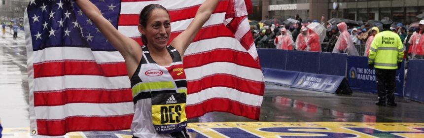 b5a1dc31b03 There are few things more rule-breaking than being the first American woman  to win the Boston Marathon in 33 years. Despite her successes