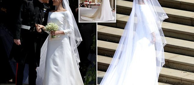 Expert reveals how to preserve a wedding dress such as Meghan ...