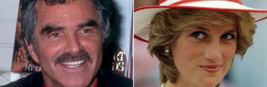 Burt Reynolds Once Received A Thank You Note From Princess Diana Following His Split From Loni Anderson Hot Lifestyle News