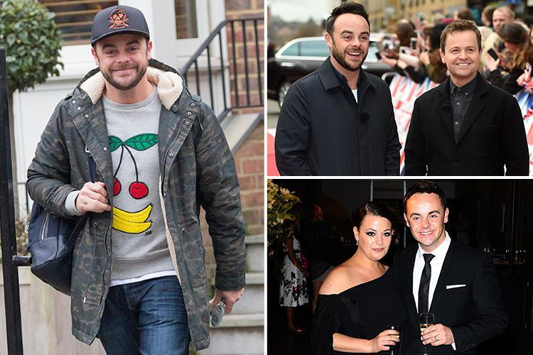 What Age Is Ant Mcpartlin What Is His Net Worth And Will He Return To I M A Celebrity And Saturday Night Takeaway Hot Lifestyle News