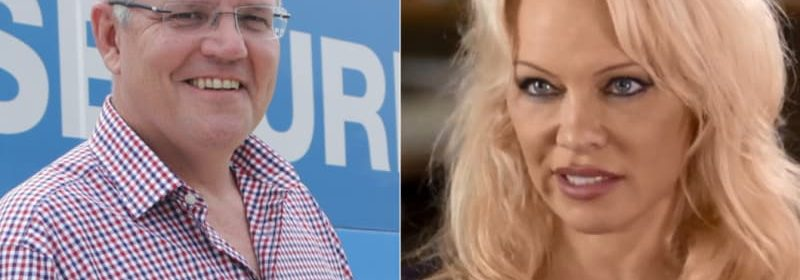 Pamela Anderson Accuses Scott Morrison Of Making Smutty Comments About Her