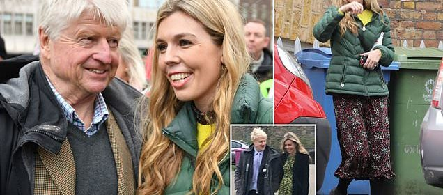 Boris Johnson S Girlfriend Carrie Symonds Leaves Their 1m Love Nest