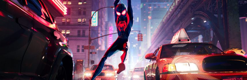 annie awards �spiderman into the spiderverse