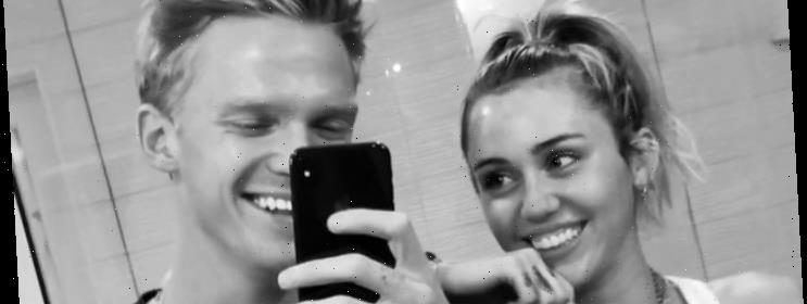 Miley Cyrus And Cody Simpson Get Matching Trident Tattoos Hot Lifestyle News