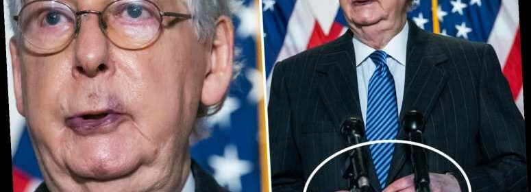 Mitch McConnell denies he's suffering from health problems ...