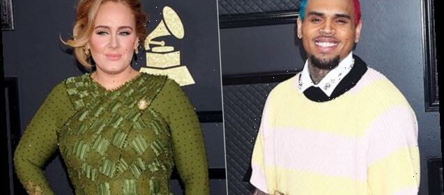 Chris Brown Paid A Late Night Visit To Adele During His Trip In London Report Hot Lifestyle News